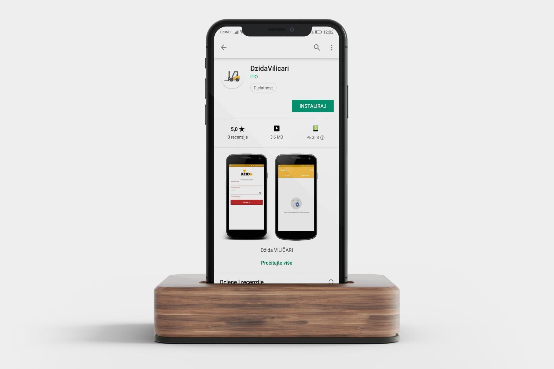 Dzida mobilna aplikacija