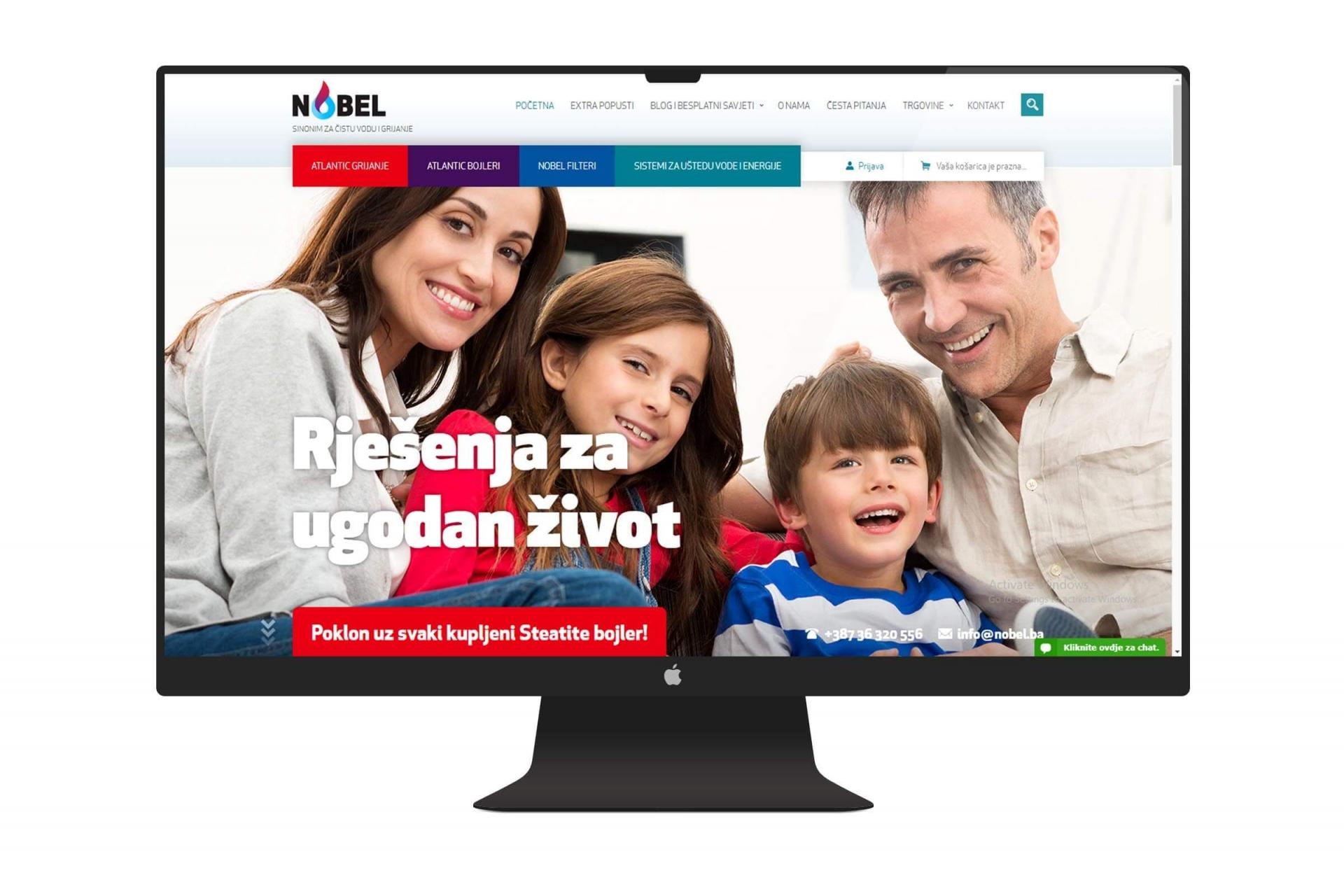 Nobel website